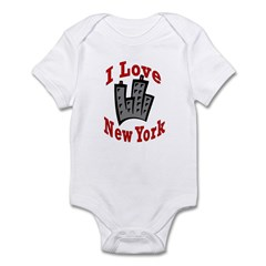 I Love New York Infant Creeper