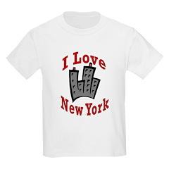 I Love New York Kids T-Shirt