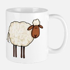 white sheep Mug