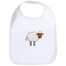 white sheep Bib