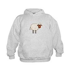 white sheep Hoodie