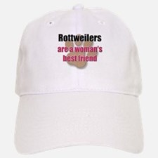 Rottweilers woman's best friend Baseball Baseball Cap