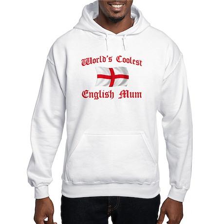 Coolest English Mum Hooded Sweatshirt