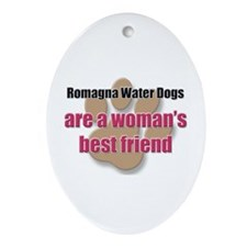 Romagna Water Dogs woman's best friend Ornament (O