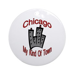 Chicago: My Kind Of Town Keepsake (Round)
