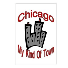 Chicago: My Kind Of Town Postcards (Package of 8)