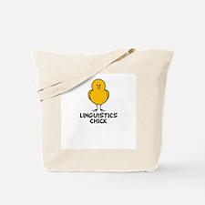 Linguistics Chick Tote Bag