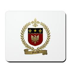 MARTIN Family Crest Mousepad