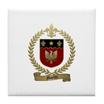 MARTIN Family Crest Tile Coaster