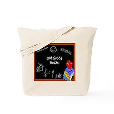 Chalk Board 2nd Grade Tote Bag