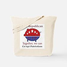 Patriotic Pig Tote Bag