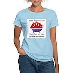 Patriotic Pig Women's Light T-Shirt