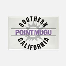 Point Mugu California Rectangle Magnet