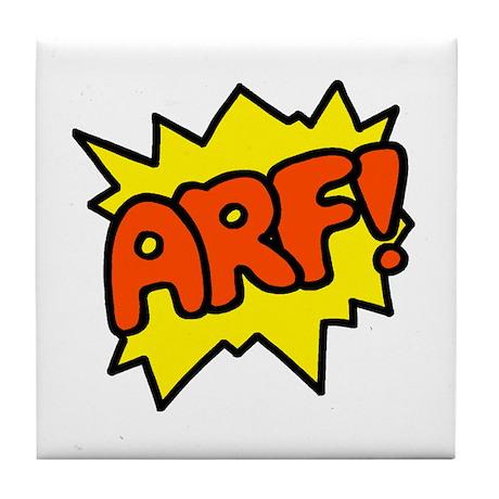 'Arf!' Tile Coaster