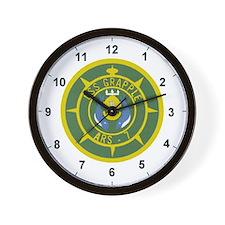 Grappling Wall Clock