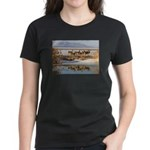 Cluster Women's Dark T-Shirt
