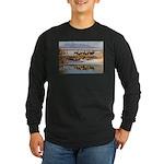 Cluster Long Sleeve Dark T-Shirt
