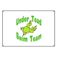 Under Toad Swim Team Banner