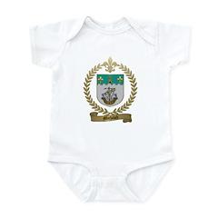 MICHAUD Family Crest Infant Creeper