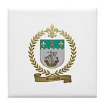 MICHAUD Family Crest Tile Coaster