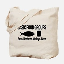 Basic Food Groups Tote Bag