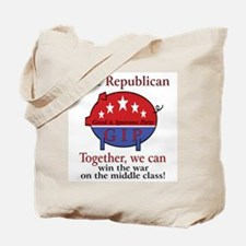 Class Pig Tote Bag