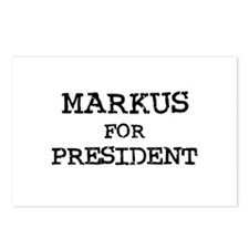 Markus for President Postcards (Package of 8)
