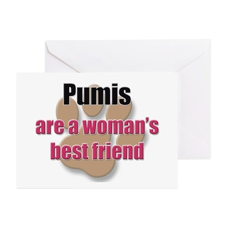 Pumis woman's best friend Greeting Cards (Pk of 10