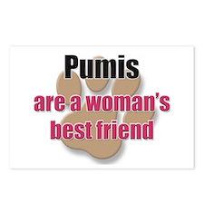 Pumis woman's best friend Postcards (Package of 8)