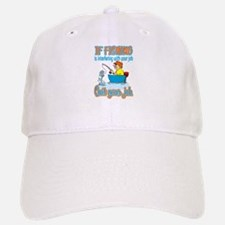 Interfering Fish Baseball Baseball Cap
