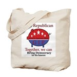 Power Pig Tote Bag