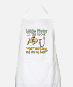 Little Fishy in the Brook Apron