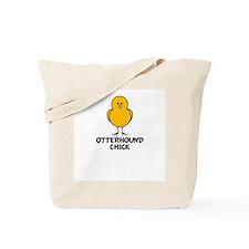 Otterhound Chick Tote Bag