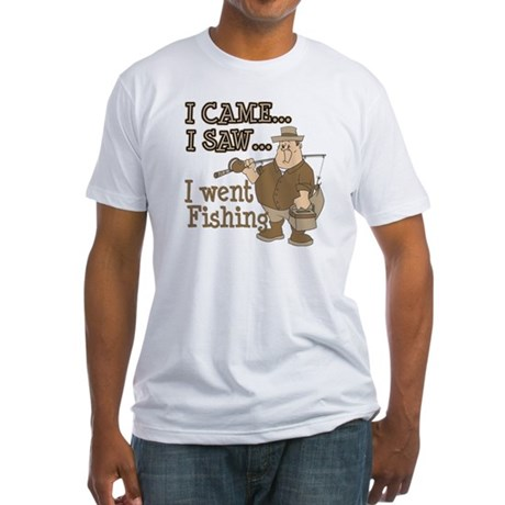 I Came... I Saw... Fitted T-Shirt