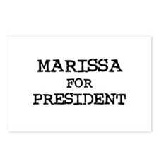 Marissa for President Postcards (Package of 8)