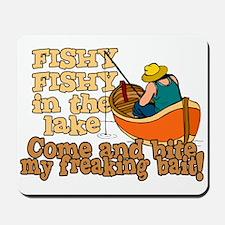 Fishy Fish in the lake Mousepad