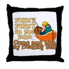 Fishy Fish in the lake Throw Pillow