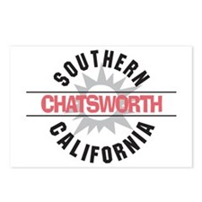 Chatsworth California Postcards (Package of 8)