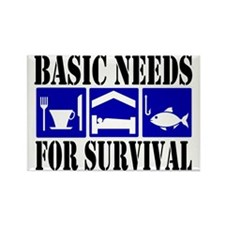 Basic Needs for Fishing Rectangle Magnet
