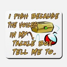 Tackle Box Voices Mousepad