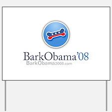 Bark Obama Yard Sign