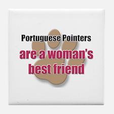 Portuguese Pointers woman's best friend Tile Coast
