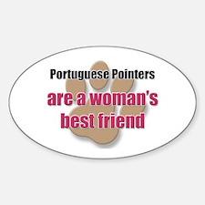 Portuguese Pointers woman's best friend Decal