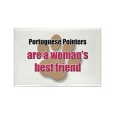 Portuguese Pointers woman's best friend Rectangle