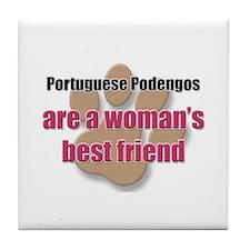 Portuguese Podengos woman's best friend Tile Coast