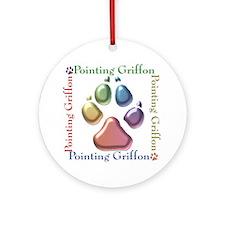 Griffon Name2 Ornament (Round)