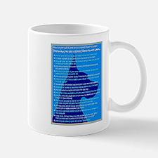 Checklist 1 (in blue) Great Dane Mug