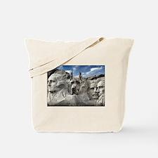 Mt. Rushmore Great Dane Tote Bag