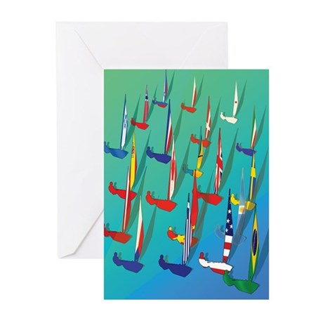 Sailing Regatta Greeting Cards (Pk of 20)