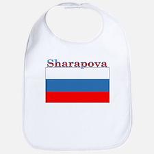 Sharapova Russia Flag Bib